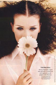 Marie Claire UK, mid 90s  Photographer : Hiromasa  Model : Angelika Kallio  via http://80s-90s-supermodels.tumblr.com