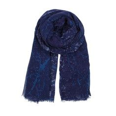 Frederiksberg Scarf Blue, $70, now featured on Fab.