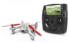 """Hubsan H107D X4 FPV RC 4CH 6 Axis Quadcopter 2.4G RTF With Camera 4.3\"""" Transmitter -- More info could be found at the image url."""