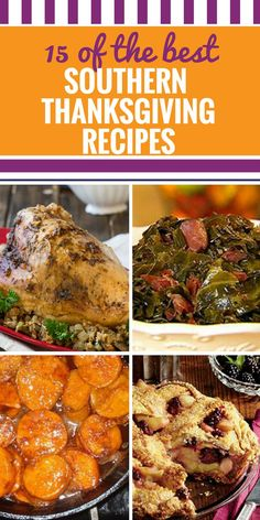 15 Southern Thanksgiving Recipes - My Life and Kids 15 Southern Thanksgiving Rec. Southern Thanksgiving Recipes, Traditional Thanksgiving Menu, Thanksgiving Dinner Recipes, Thanksgiving Side Dishes, Southern Recipes, Holiday Recipes, Italian Thanksgiving, Southern Meals, Southern Desserts
