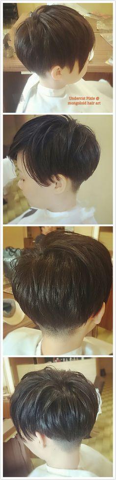 #undercut  #pixie #hair #mongoloidhairart #salon #oug