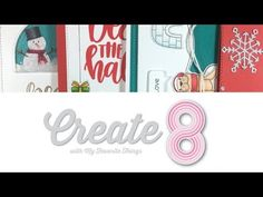 (46) Create8 part 1 | October cards - YouTube