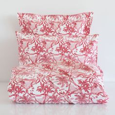 RED PALM TREE BED LINEN - Bedroom - Luxor Collection - Shop by collection   Zara Home United States