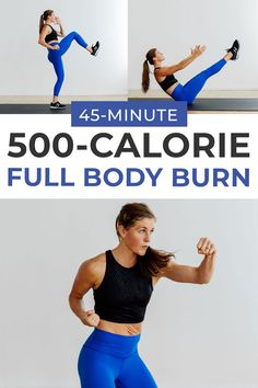 Full Body Strength + HIIT Workout