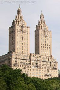 San Remo building, Upper West Side ~ not forgetting the fabulous views over Central Park, this has to be one of many great reasons to live in New York City.