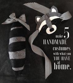 5 easy homemade halloween costumes
