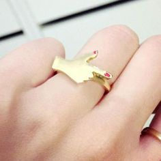 Hand Gesture Ring from #YesStyle <3 Cuteberry YesStyle.co.uk