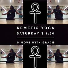 Starting  tomorrow 9/17/16 I will be teaching Kemetic Yoga at Move With Grace Studio in Brooklyn every Saturday at 1:30-3:00pm. Hotep!  Address: 431 Myrtle Ave Brooklyn N.Y.  #KemeticYoga #Yoga #movewithgrace #wellness #healthyliving #holisticliving #Hotep #Kemetic #BrownstoneWellness