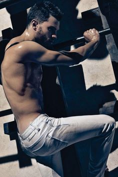 This used to be home — Jamie Dornan for Calvin Klein