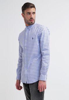 Pedir Polo Ralph Lauren SLIM FIT - Camisa informal - white/navy por 109,95 € (13/04/16) en Zalando.es, con gastos de envío gratuitos.