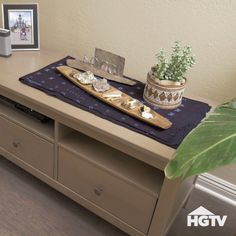 Quick Coastal Decor Updates — Give your home a coastal feel with some quick changes to the floor and decor. Brought to you by HGTV and @Shawfloors.