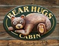Cabin Signs, Home Signs, Cottage Signs, Bear Hugs, Just Dream, Street Signs, Signage, Our Wedding, Teddy Bear