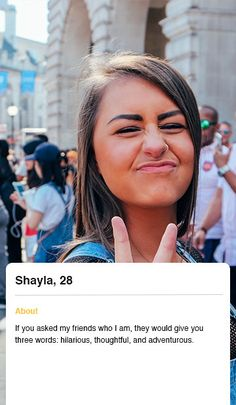 Actual Examples of Good and Bad Female Dating Profiles