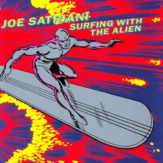 Joe Satriani - Surfing With The Alien by bandstarrstore. Explore more products on http://bandstarrstore.etsy.com