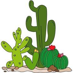 Silhouette Design Store - View Design #10577: cactus set