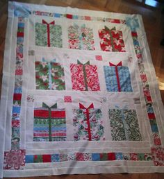 A quilt of presents!