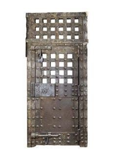 Door to Newgate Prison, 1780 The prison was under reconstruction when it was… Dream Home Design, House Design, London Protest, The Old Curiosity Shop, Wine Safari, Beyond The Sea, London Museums, Oak Doors, Old London