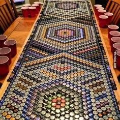 This is my beer table