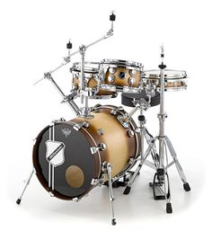 Millenium Travel Mate Brown Burst Bundle #drums #millenium #thomann