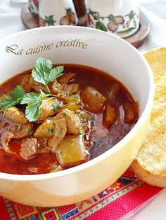 "Muckalica ""a la chef""/Beef stew with peppers @Lana Belic"