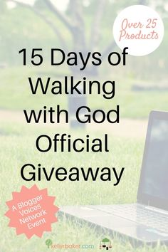 15 Days of Walking with God Official Giveaway - Kelly R Baker Biblical Marriage, Biblical Womanhood, Biblical Quotes, Faith Quotes, Christian Women, Christian Living, Christian Faith, Christian Devotions, Christian Encouragement