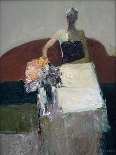 "Dan McCaw | ""Solitude"" | Oil, 16 x 12"""