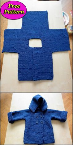 Easy and reliable crochet free patterns - Diy Rustics. # crochet baby patterns free boy Easy and reliable crochet free patterns - Diy Rustics Crochet Baby Sweater Pattern, Baby Sweater Patterns, Baby Patterns, Crochet Baby Sweaters, Free Baby Crochet Patterns, Boys Knitting Patterns Free, Blanket Patterns, Cardigan Pattern, Knit Cardigan