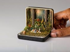 Ring Box Dioramas - TALWST Creates Miniatures Inspired by Current Events and Pop Culture (GALLERY)