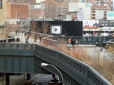 HIgh Line in winter