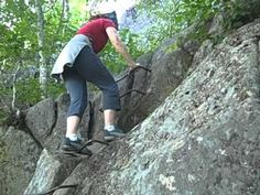 """Precipice Trail Acadia National Park Hike - """"The Best"""" - August 2010"""