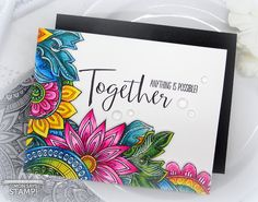 Are you as excited for STAMPtember as I am? I feel like it& taken forever to get here! I& so psyched to. Altenew, Simon Says Stamp, Card Maker, Distress Ink, Copics, Stampin Up Cards, Color Inspiration, Note Cards, Handmade Cards