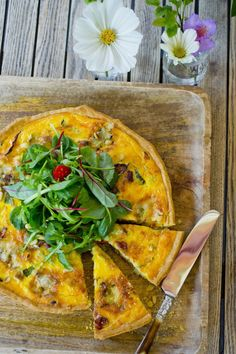 Foto: Sara Johannessen/VG Vegetable Pizza, Quiche, Vegetables, Breakfast, Food, Father, Eten, Meals