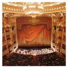 """paris opera house stage """"Think of me, think of me fondly..."""""""