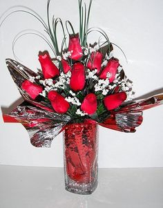 Rose Petals Scented Red Wood Roses-Bakers Dozen in a Glass Vase by The Scented Castle. $25.00. A unique gift for someone special or even for yourself. Beautiful arrangement of 13 wood red roses lasts forever and is sure to brighten anyone's day. Valentine's Day...Birthday...Easter...Mother's Day Wooden Roses, Valentines Day Birthday, Red Wood, Rose Petals, Home Kitchens, Decorative Accessories, Accent Decor, Red Roses, Mothers