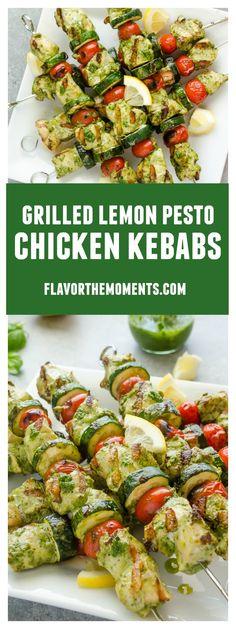 Grilled Lemon Pesto