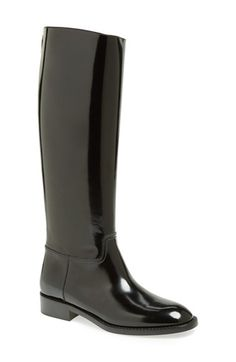 Saint Laurent 'Cavaliere' Riding Boot (Women) available at #Nordstrom