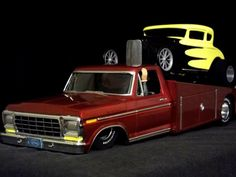 Ford car hauler and street rod