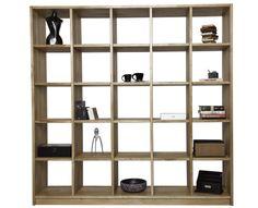 Wunderschönes Bücherregal nach Maß, welches auch als Raumteiler genutzt werden kann. Das massive Holz strahlt Beständigkeit und Qualität aus. Möbel einfach selbst konfigurieren mit www.pickawood.com