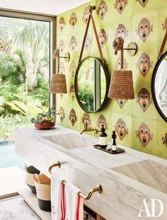 Loving this tropical bathroom!! Hospitality Design HOSPITALITY DESIGN | IN.PINTEREST.COM FASHION EDUCRATSWEB