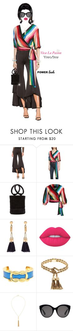"""Viva La Pasion. Passion Alive."" by shellygregory ❤ liked on Polyvore featuring Alexis, Alice + Olivia, Marni, Chloé, Lime Crime, Hermès, Tiffany & Co., Yves Saint Laurent, Gucci and passionforfashion"