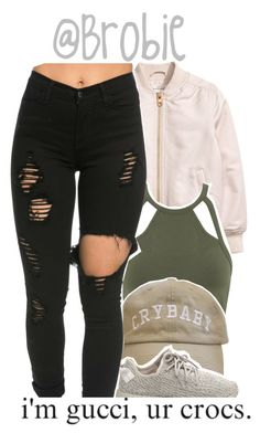 """: 385"" by brobie ❤ liked on Polyvore featuring Miss Selfridge and adidas Originals"