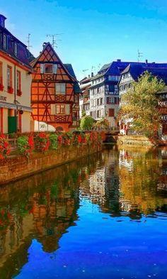 Strasbourg, France in the Alsace Region
