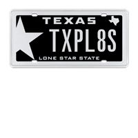 Unique Wood and Metal Style Personalized License Plate \u2022 Name License Plate \u2022 Personalized Front License Plate \u2022 Cool Front License Plate