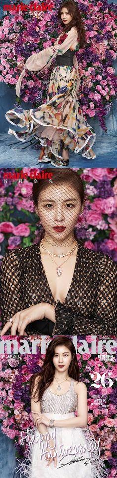 Ha Ji Won is a goddess in Hong Kong's Marie Claire