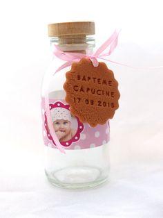 Mini-bouteille de lait pour réussir un joli candy-bar :) Entièrement personnalisable !