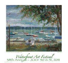 Waterfront Art Festival 2011