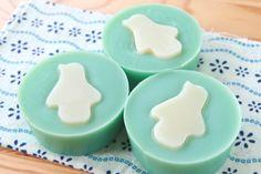 ペンギン's クールミント - 手作り石鹸*シーモアグラス!