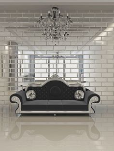 Wnętrze w stylu glamour, czyli jak sprawdzić, by twoje mieszkanie wyglądało luksusowo - Deccoria.pl