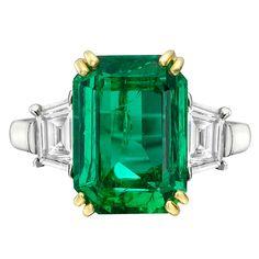 Emerald cut emerald