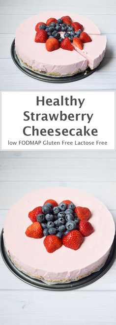 A cheesecake so healthy, that you can have it for breakfast!